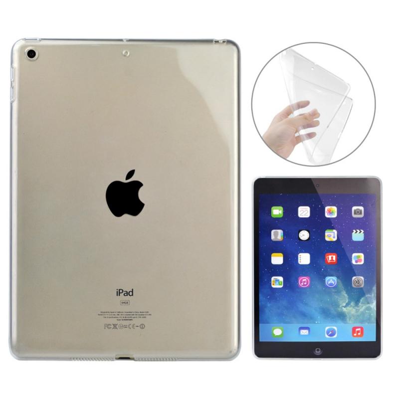 Priehľadné silikónové puzdro kryt pre Apple iPad 9 f3eceab177a