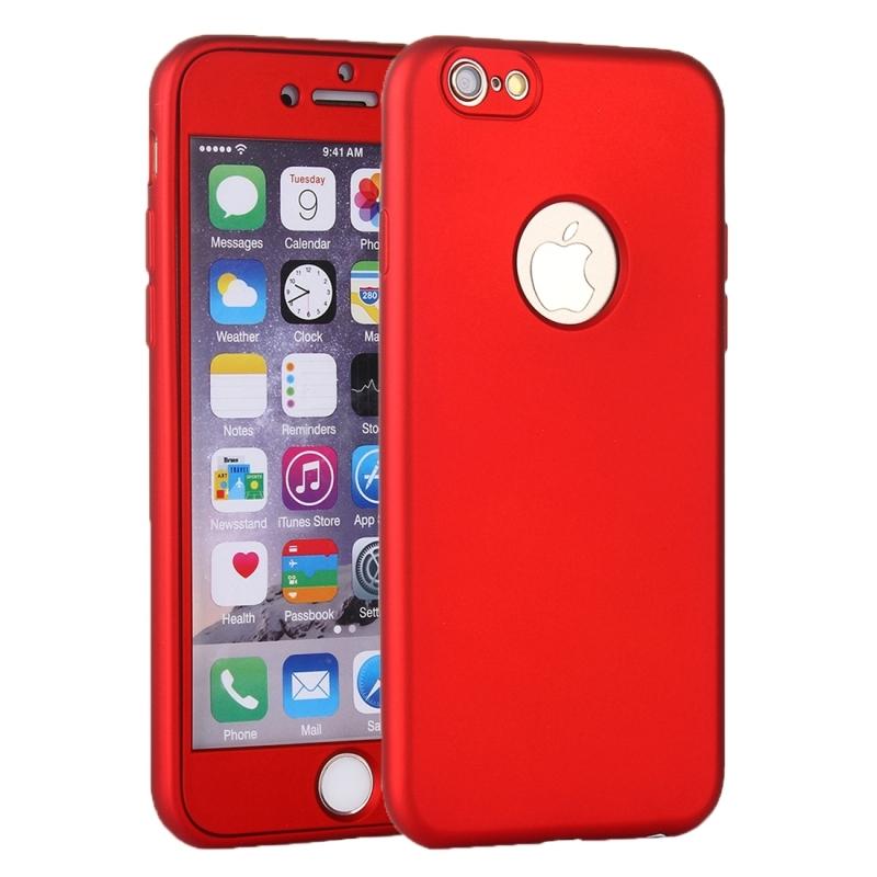 Plastový obal na iPhone 6 6S s 360° ochranou – chráni prednú aj zadnú ... 7d9a9e44e7c