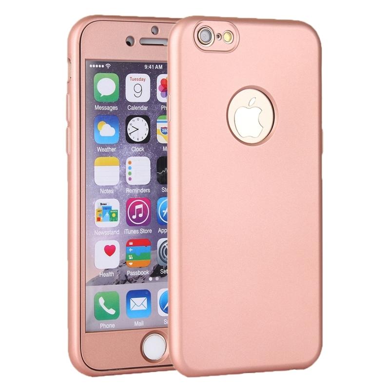 Plastový obal na iPhone 6 6S s 360° ochranou – chráni prednú aj zadnú ... 29bbd8f1b61