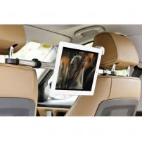 Držiak do auta medzi predné sedadlá sprichytením na opierky na iPad