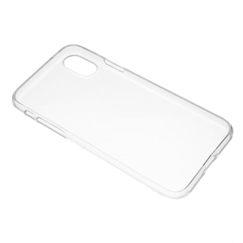 Plastový zadný kryt pre Apple iPhone XS   iPhone X – transparentná ... 76f4fb66584