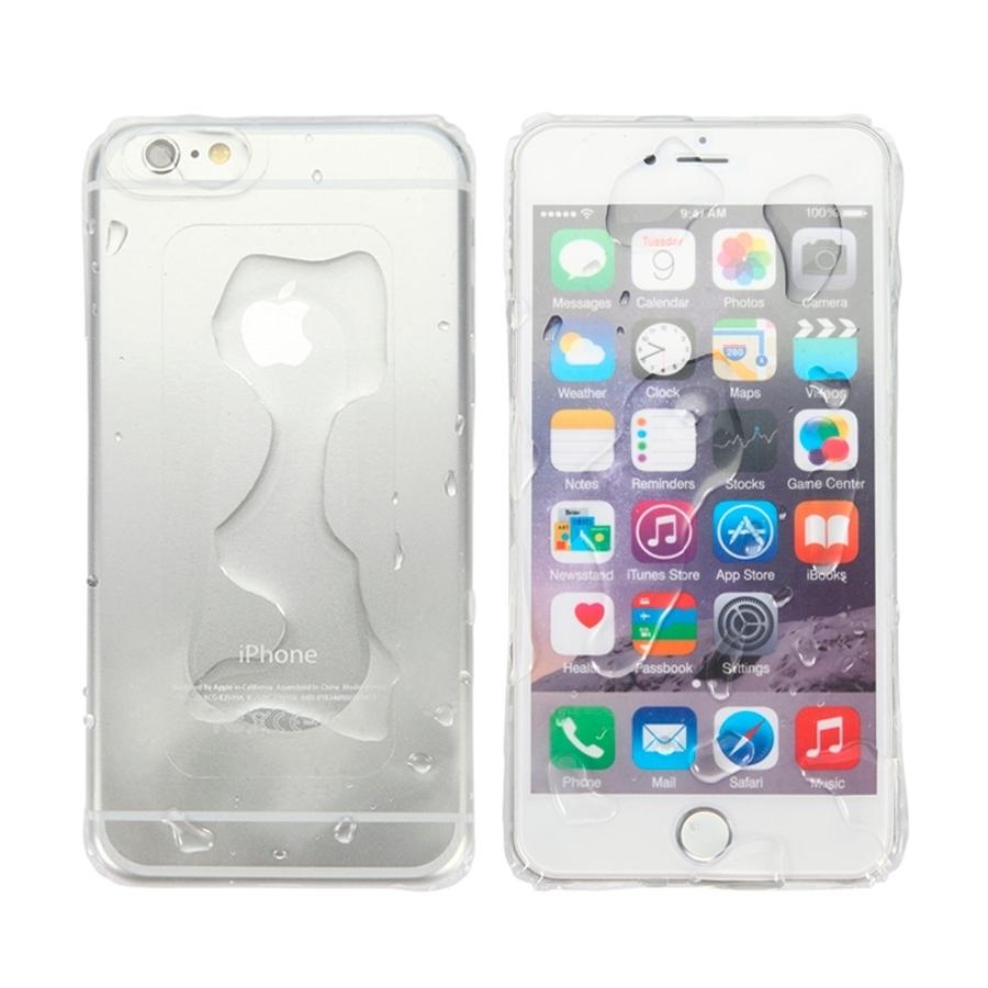 Vodovzdorné ultratenké puzdro   obal pre Apple iPhone 6   6S - priehľadné 9a756895345