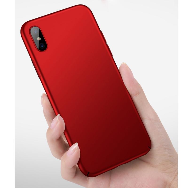 ... CAFELE ultratenký štýlový kryt pre iPhone XS   iPhone X – červená ... dcf3f3e19a0