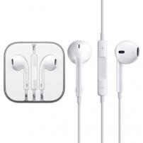 Slúchadlá s mikrofónom a diaľkovým ovládaním pre zariadenia Apple - biela 682ebec5320