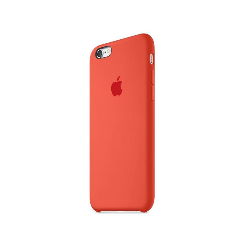 Originálny silikónový kryt na Apple iPhone 6S Plus – červený ... 49ee509e17b
