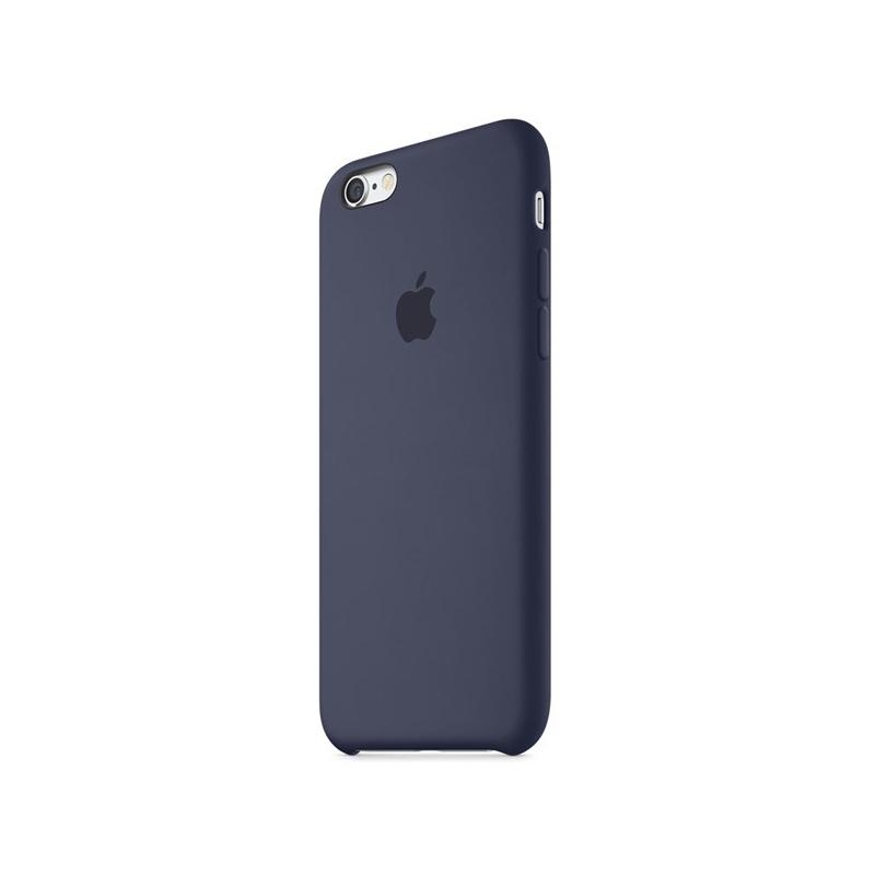 Originálny silikónový kryt pre Apple iPhone 6S Plus – polnočne modrý ... 995d95aad82