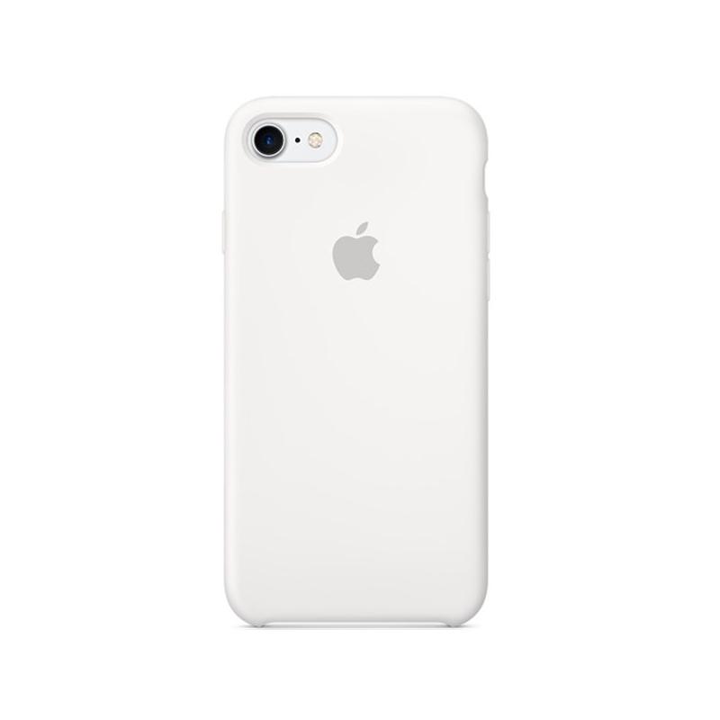 Originálny silikónový kryt pre Apple iPhone 7 – biely - AppleKing.sk 76512dbed21