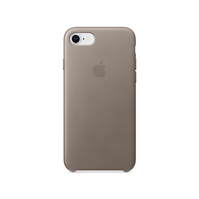 Originálne kožené puzdro pre Apple iPhone 8 7 – dymové - AppleKing.sk 99141b0881e