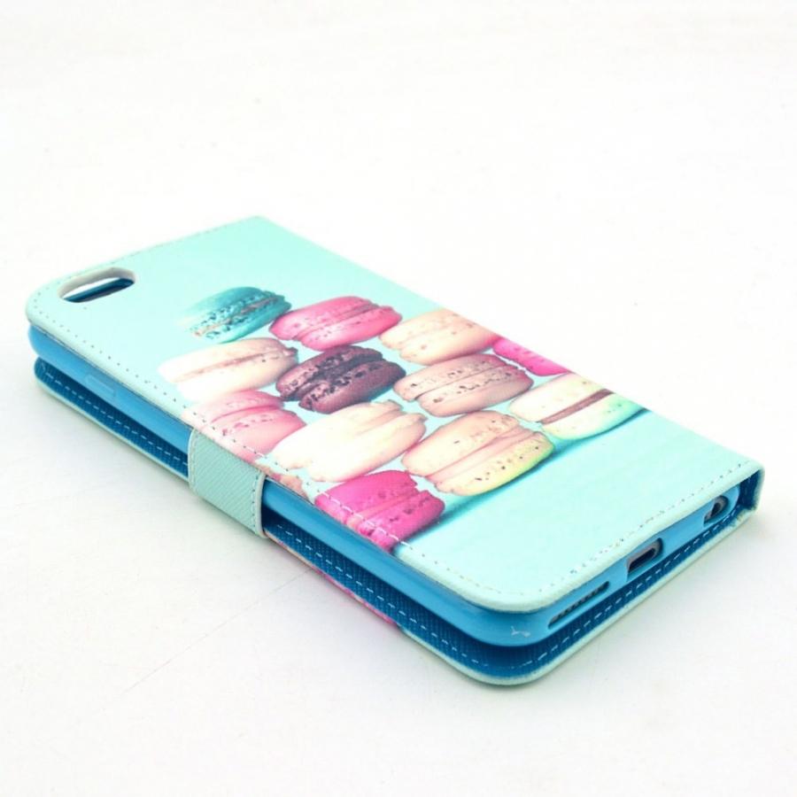 ... Puzdro kryt so slotmi na karty pre Apple iPhone 6 6S - Makrónky ... b667e676965