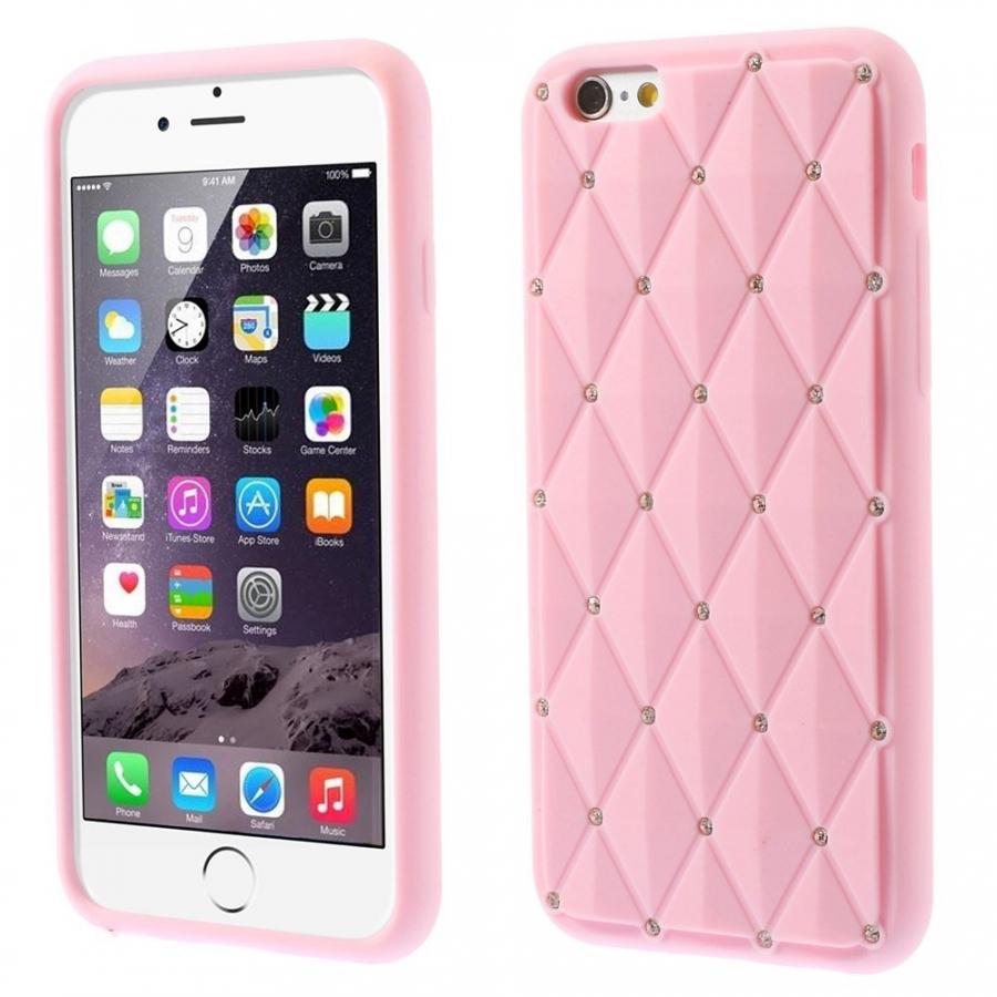 Silikónový kryt na Apple iPhone 6 6S - ružový - AppleKing.sk 862e8c3b6a8