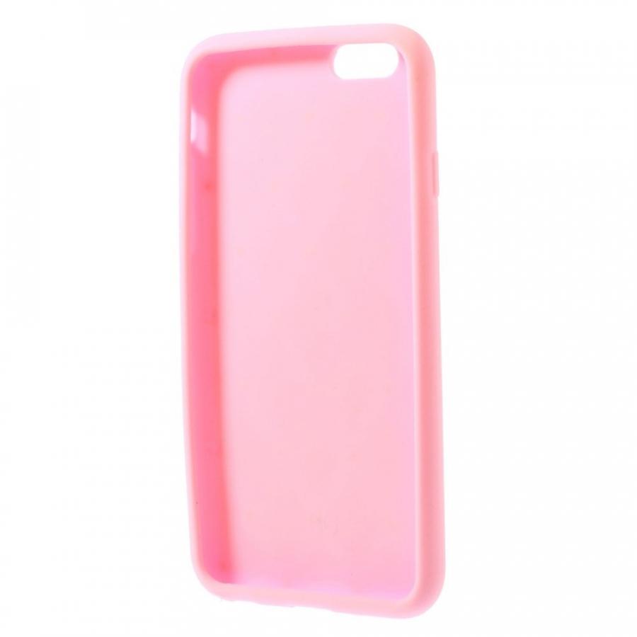 Silikónový kryt na Apple iPhone 6 6S - ružový - AppleKing.sk b86ee621a42