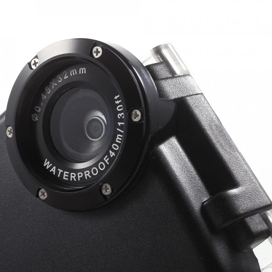 ... Vodotesné vysoko odolné IPX8 puzdro s kompasom pre Apple iPhone 6 6S -  čierne ... 2bdd28e0e6d