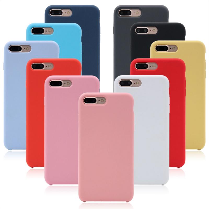 Ochranný silikónový kryt pre Apple iPhone 7 Plus 8 Plus – čierny ... 1f65b97a3d7
