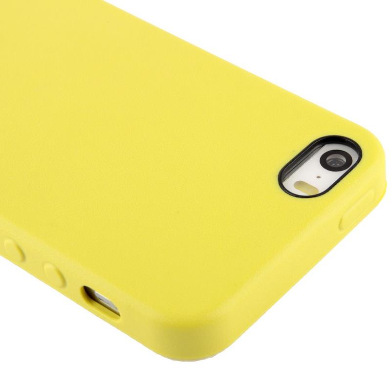 ... Kryt v originálnom Apple dizajne pre iPhone 5 5S SE – žltý ... 614c7f6c0c7