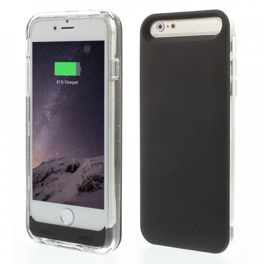iFans certifikovaná MFi externá batéria power banka 3100 mAh s krytom pre  Apple iPhone 6 ... dde792543b7
