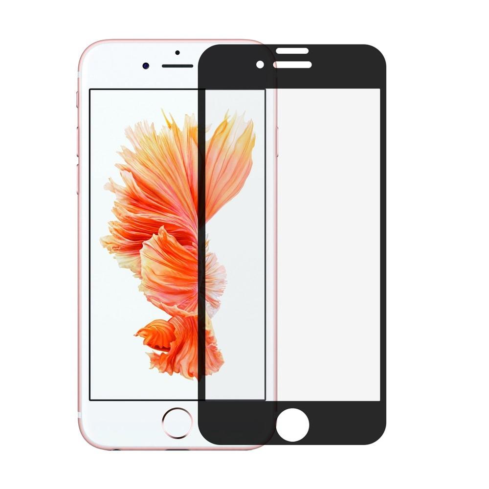 Superodolné 3D tvrdené sklo (Tempered Glass) na Apple iPhone 8 Plus   7  Plus - čierne 469635fbcbf