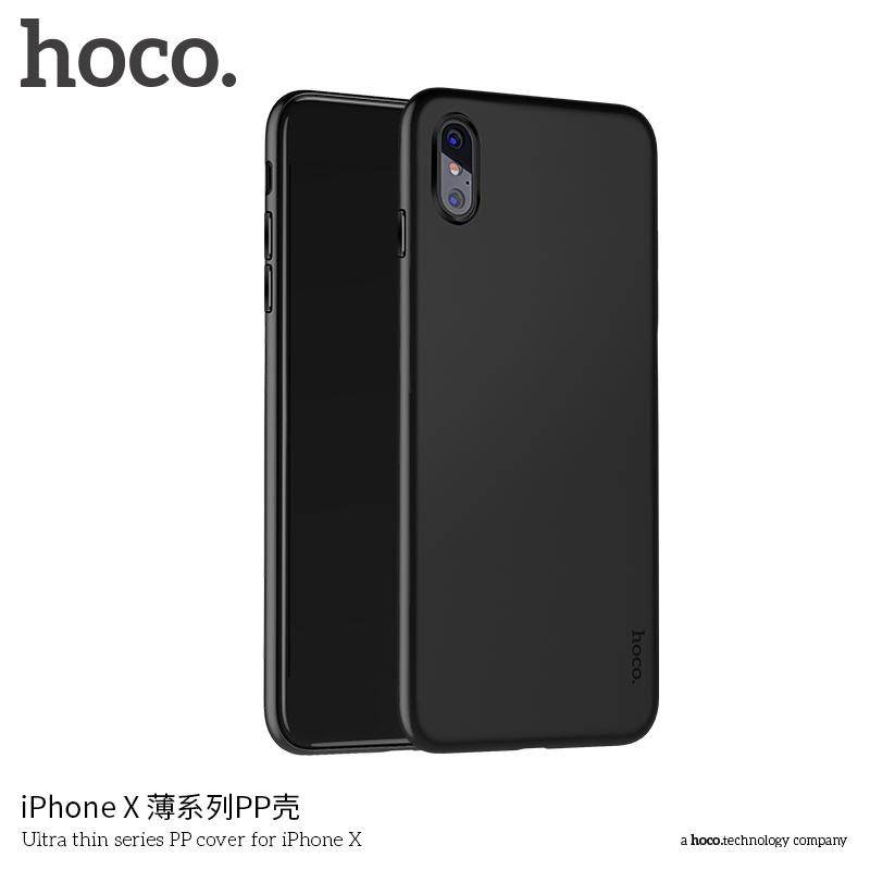 HOCO tenký kryt pre Apple iPhone XS   iPhone X – čierny - AppleKing.sk c6a12ed7362