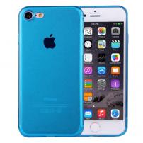 Ultratenký 0.5mm tmavý silikonový kryt pre Apple iPhone 8   7 - tmavo-modrý 8b24884f837