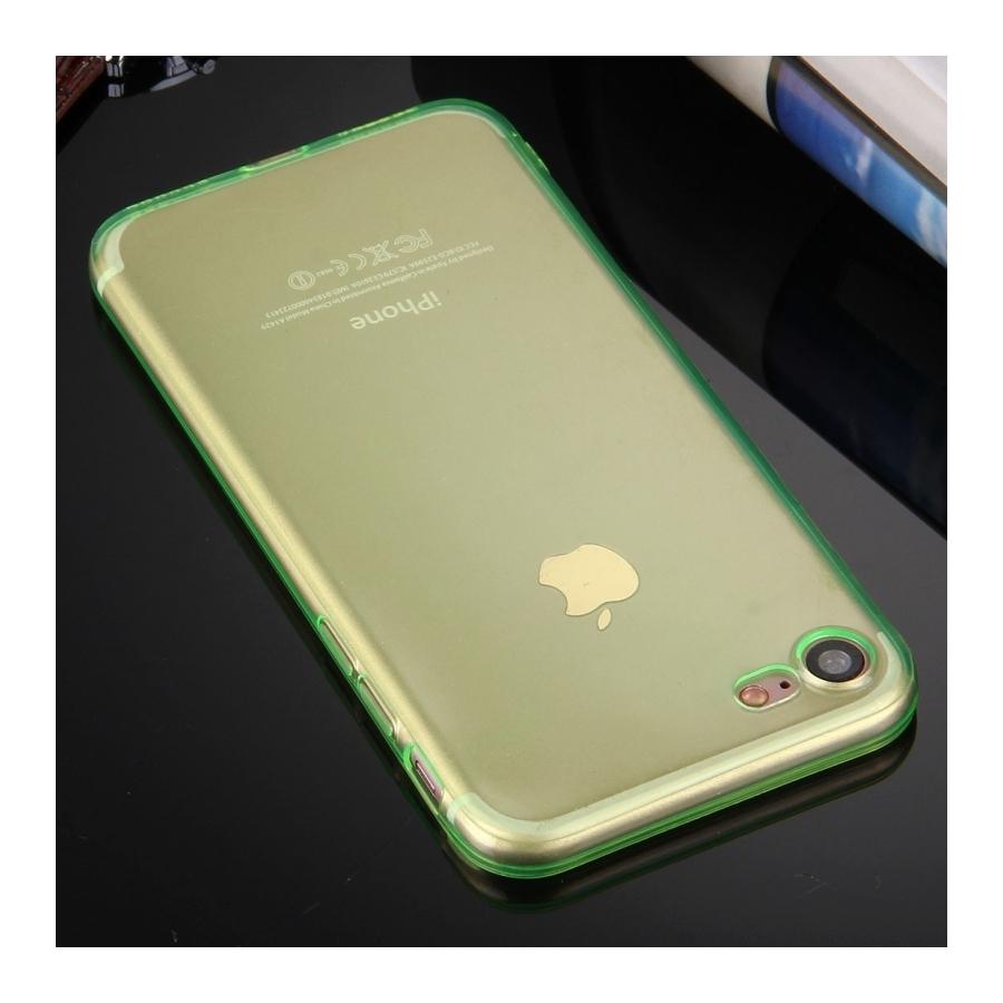 ... Ultratenký 0.5mm tmavý silikonový kryt pre Apple iPhone 8   7 - zelený  ... 43ef05da995