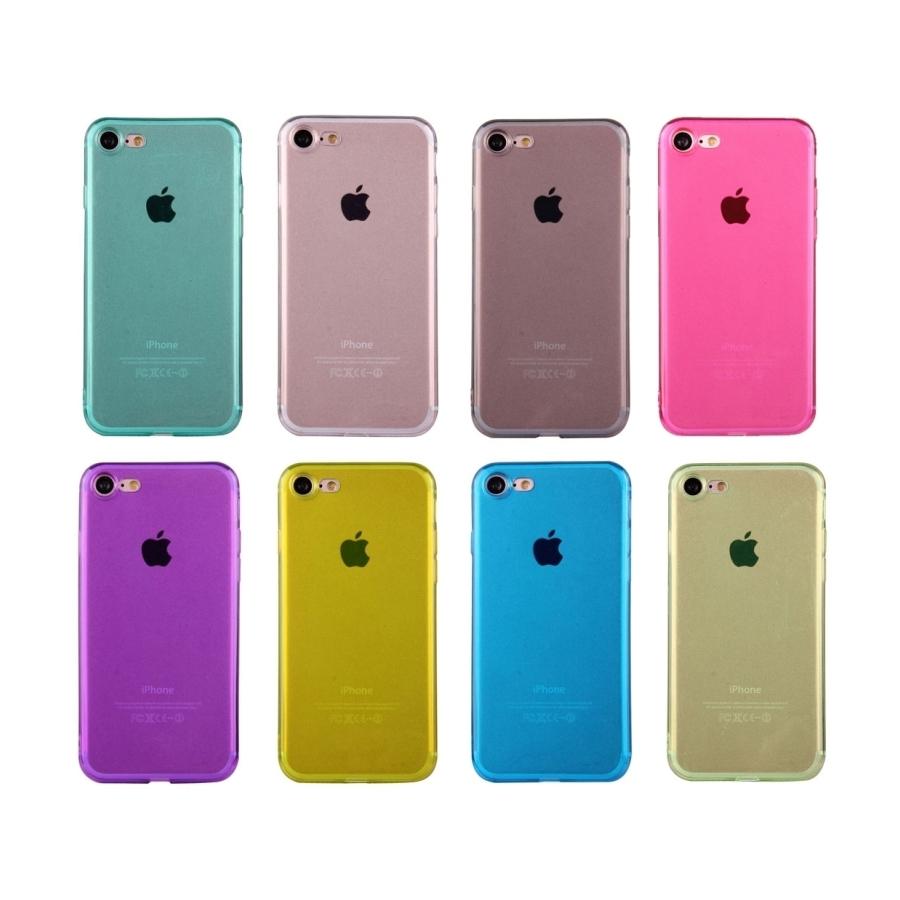 ... Ultratenký 0.5mm tmavý silikonový kryt pre Apple iPhone 8   7 - žltý ... 503afbd1c56