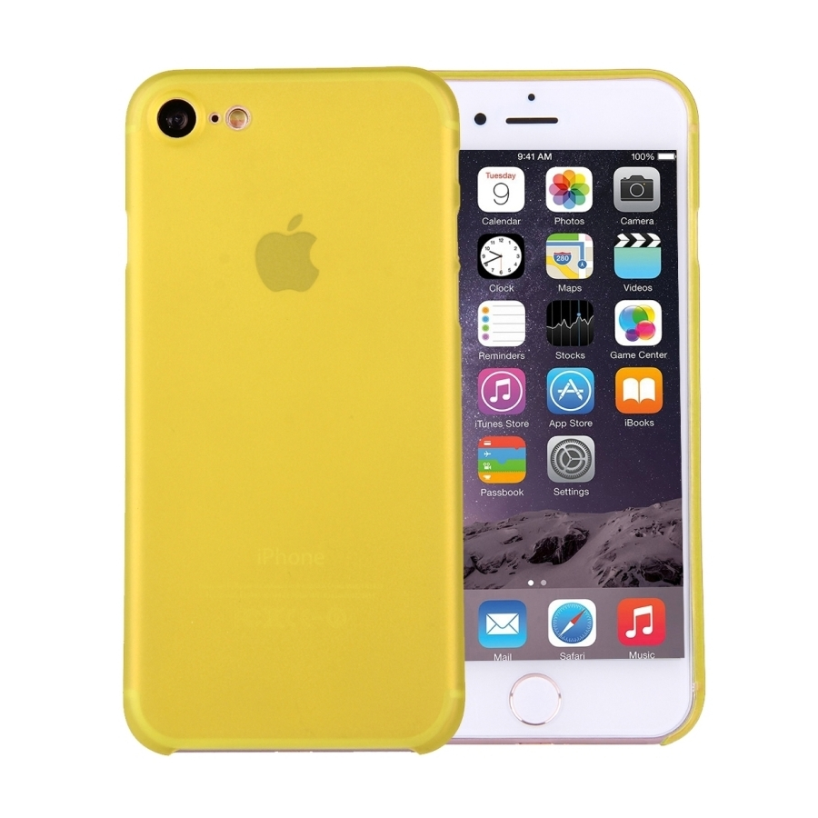Super ľahký tenký kryt na Apple iPhone 8   7 - žltý - AppleKing.sk 4cb670d2daf