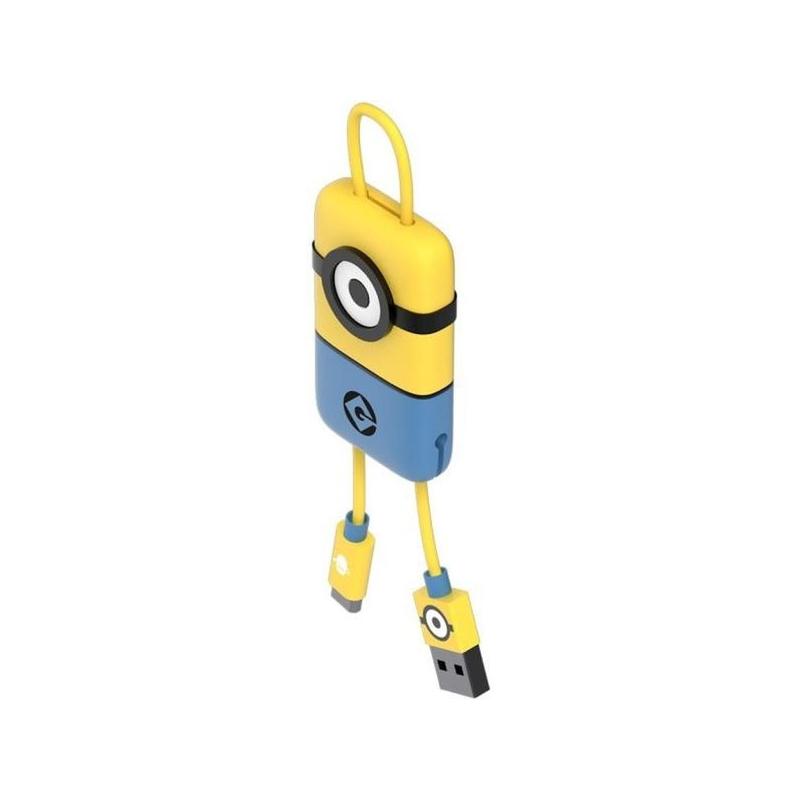 864af3587 Tribe Minions Carl Micro USB Keyline prívesok na kľúče – 22 cm – žltá ...
