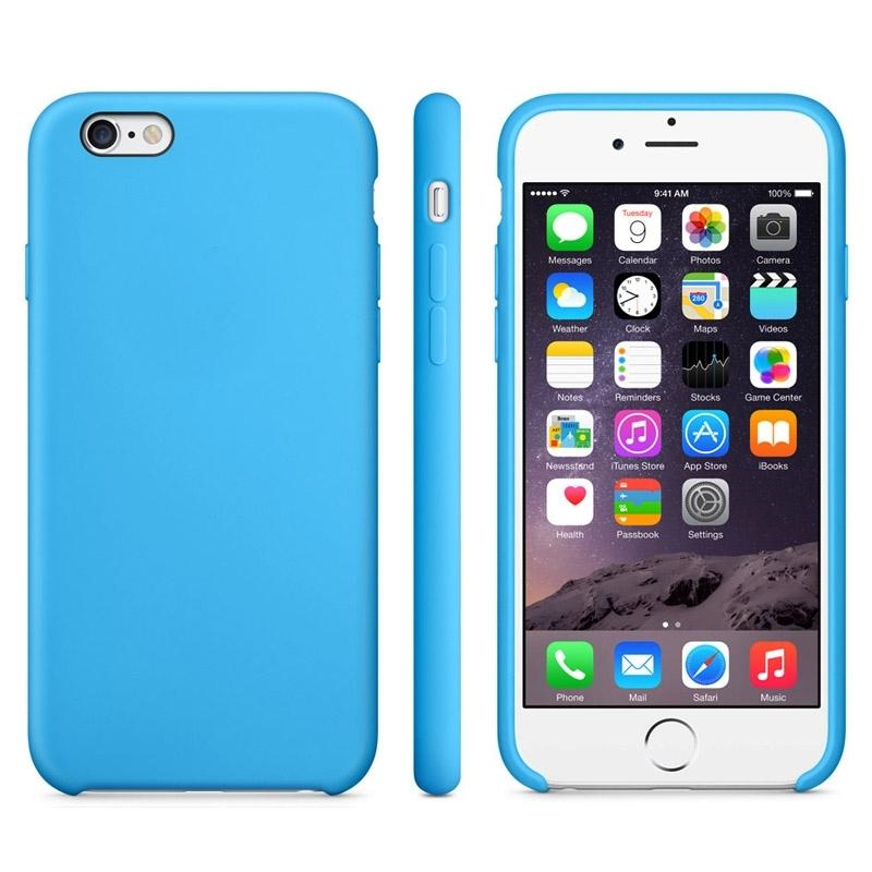Protišmykový matný obal pre Apple iPhone 6   6S - modrý - AppleKing.sk 48ab1431ed3