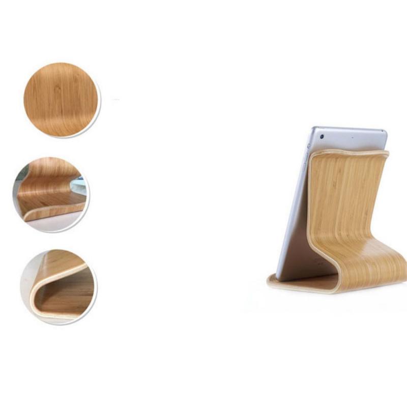 ... Luxusný drevený univerzálny stojan pre Apple iPad   iPhone - javor ... f55ec6fe7ad