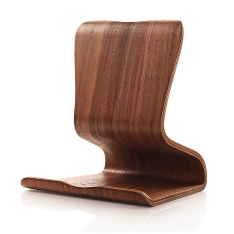 Luxusný drevený univerzálny stojan pre Apple iPad   iPhone - orech ... b4d04af99ee