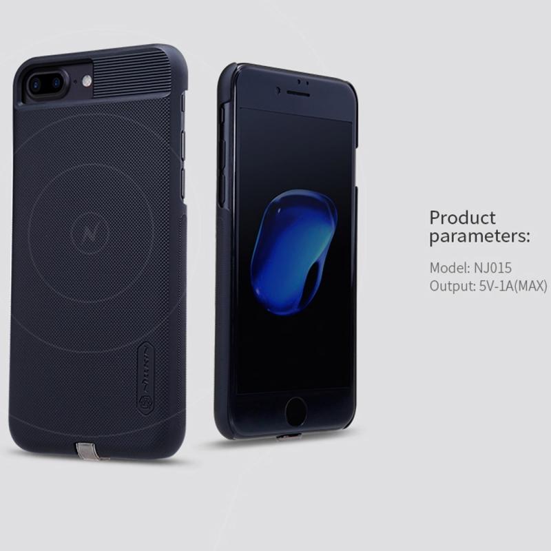 ... NILLKIN 2v1 magický kryt obal na Qi bezdrôtové nabíjanie Apple iPhone 8  Plus   7 ... 85903c4732f