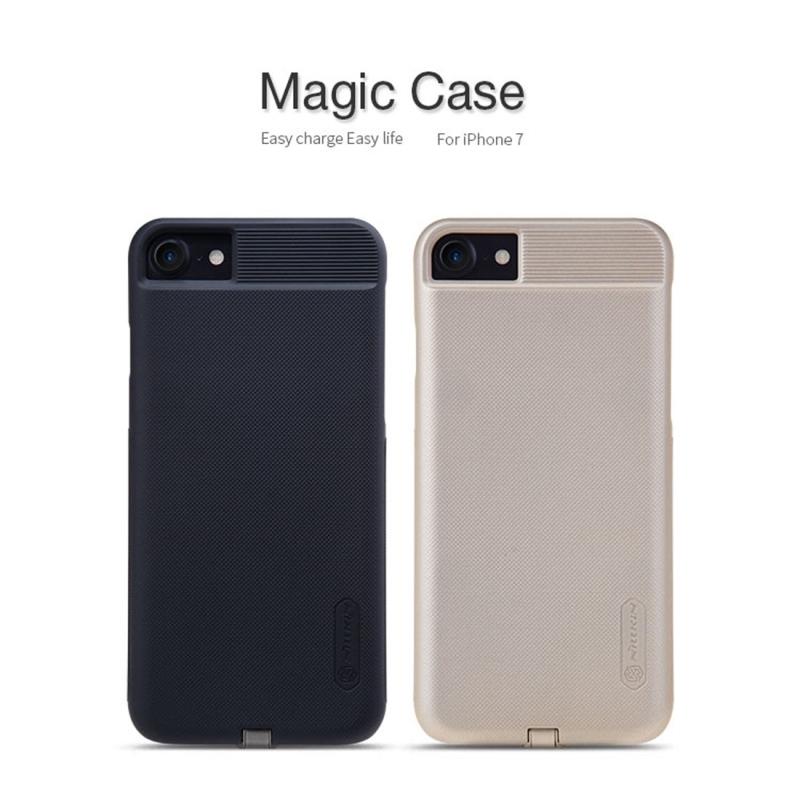 ... NILLKIN 2v1 magický kryt   obal pre Qi bezdrôtové nabíjanie Apple iPhone  8   7 ... 5a5ee787636