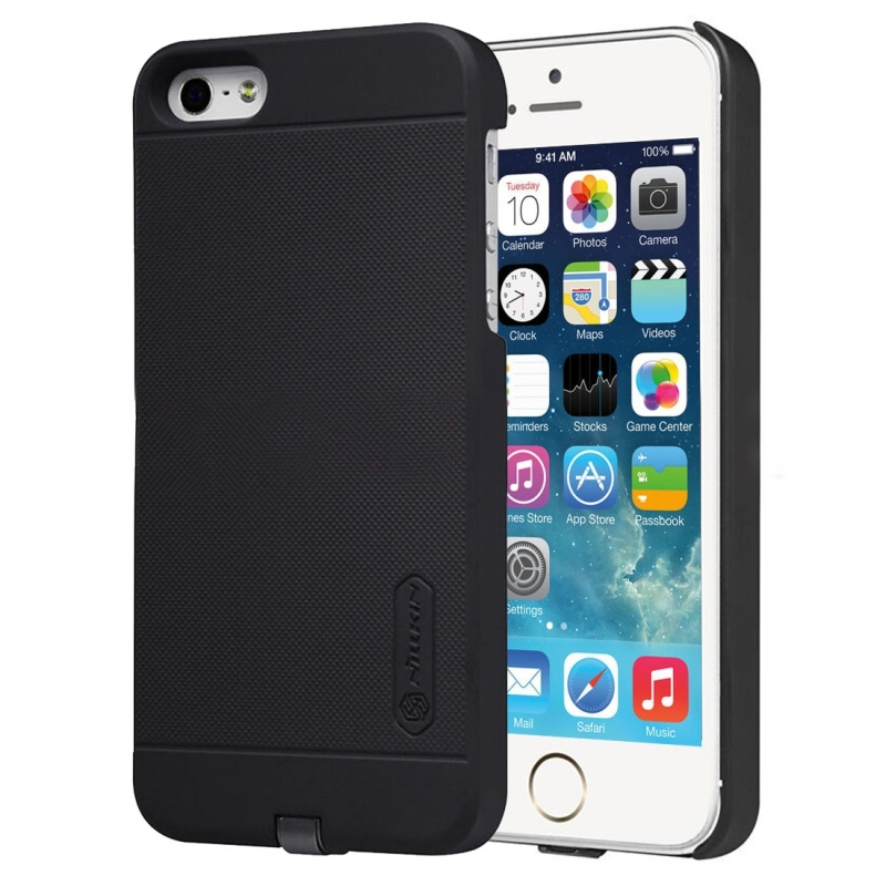 NILLKIN 2v1 magický kryt obal na Qi bezdrôtové nabíjanie Apple iPhone 5    5S ... 7fae6a77bf5