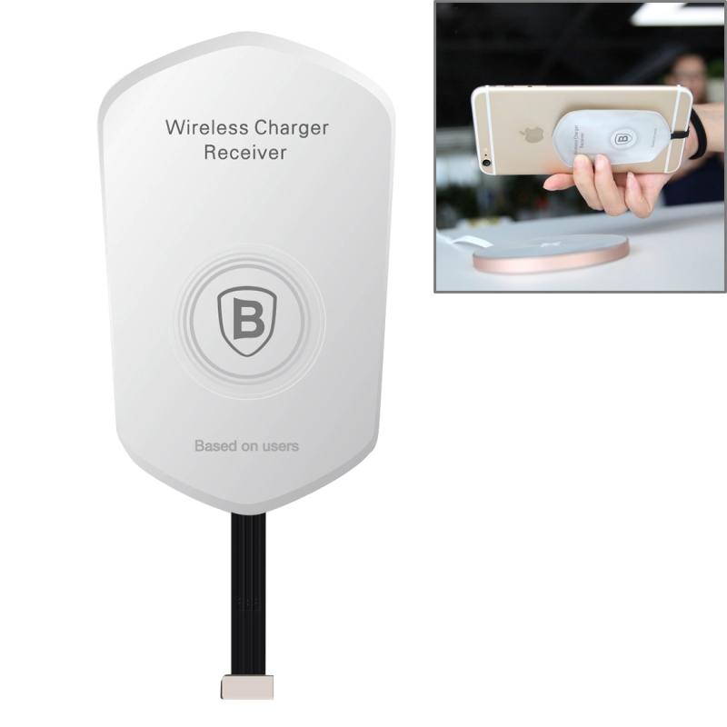 Baseus ultratenký prijímač   podložka pre Qi bezdrôtové nabíjanie pre Apple  iPhone s Lightning konektorom ... 24c8d55d18f