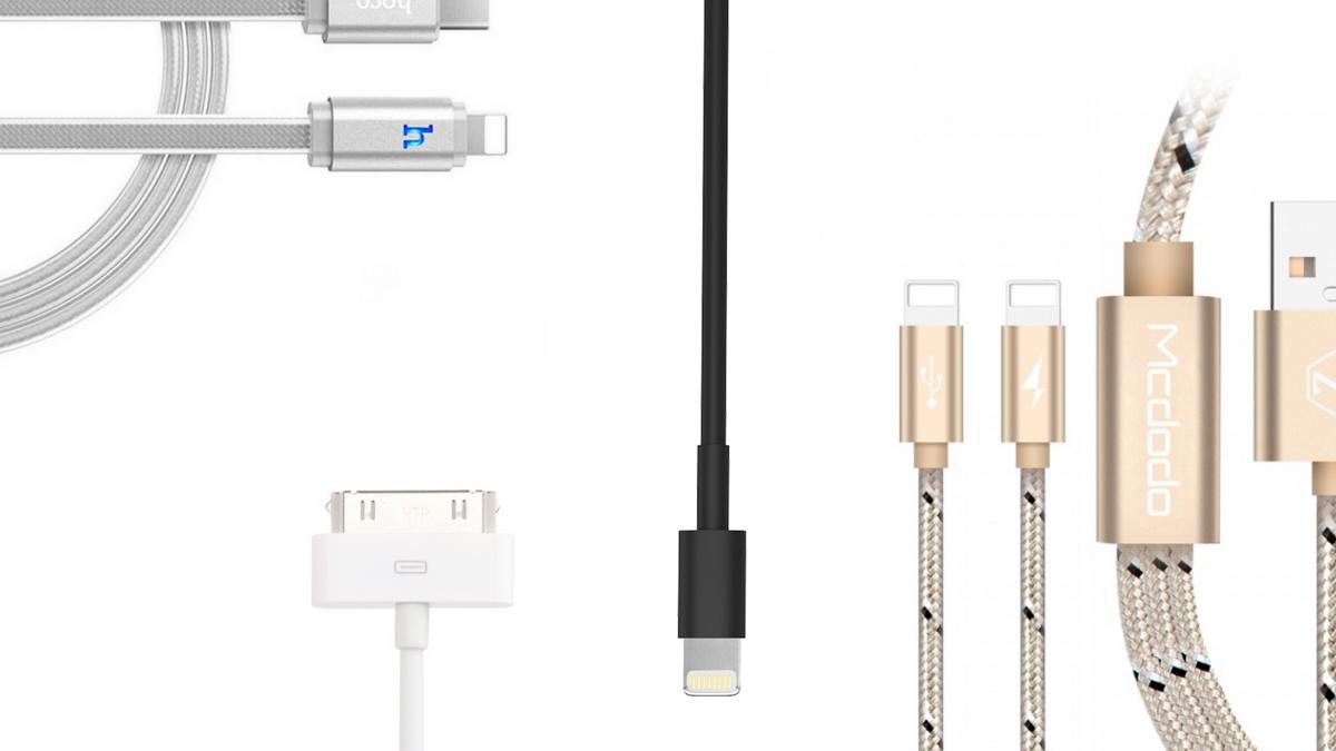 Aké sú nabíjacie káble pre iPhone aiPad